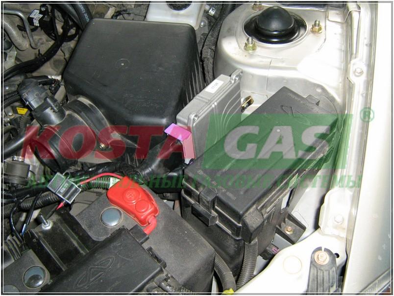 Газовая установка для автомобиля Chery