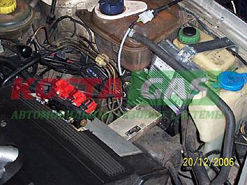 Газовая установка для автомобиля Ауди 100