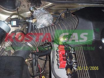 Газовый редуктор автомобиля с ГБО