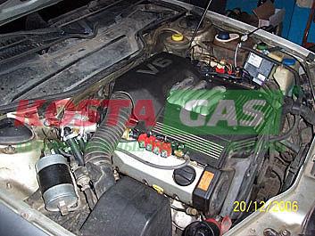 Правильная установка ГБО на Audi