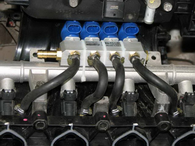 метановое оборудование со своим эбу